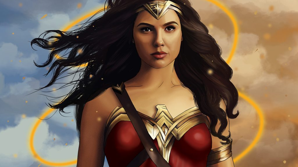 Wonder Woman HD 4K UHD Background