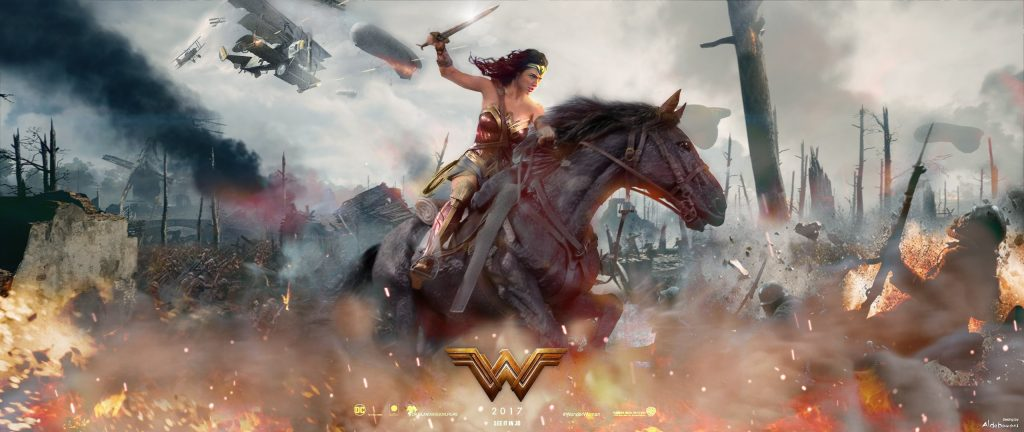 Wonder Woman HD Dual Monitor Background