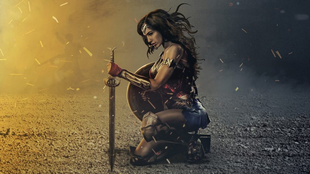 Wonder Woman HD Background