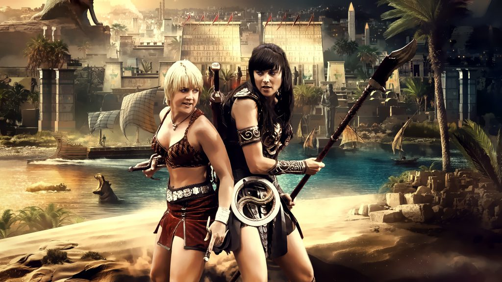 Xena: Warrior Princess Quad HD Wallpaper