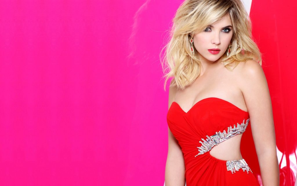 Ashley Benson Widescreen Background