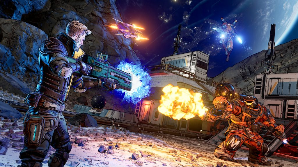 Borderlands 3 Quad HD Wallpaper