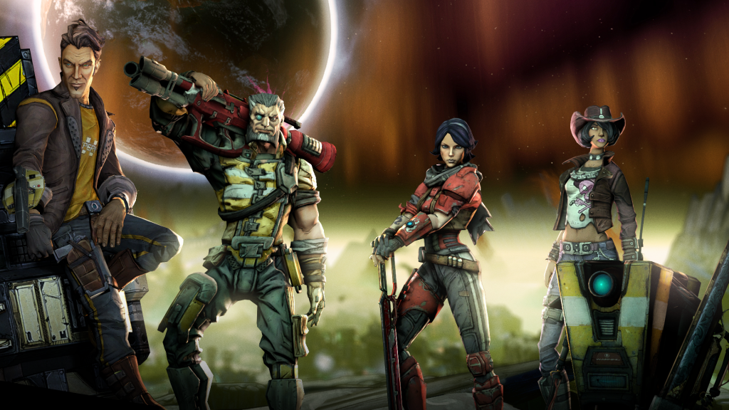 Borderlands: The Pre-Sequel Full HD Wallpaper