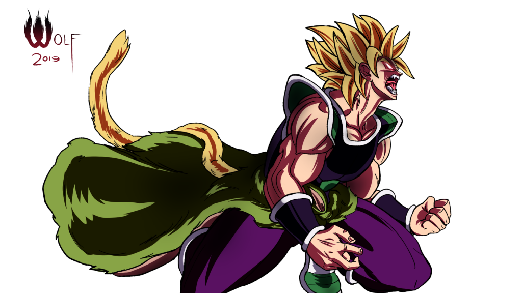 Dragon Ball Super: Broly HD Full HD Background