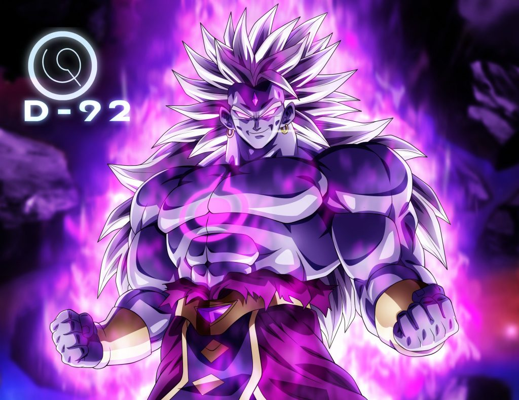 Dragon Ball Super: Broly HD Background