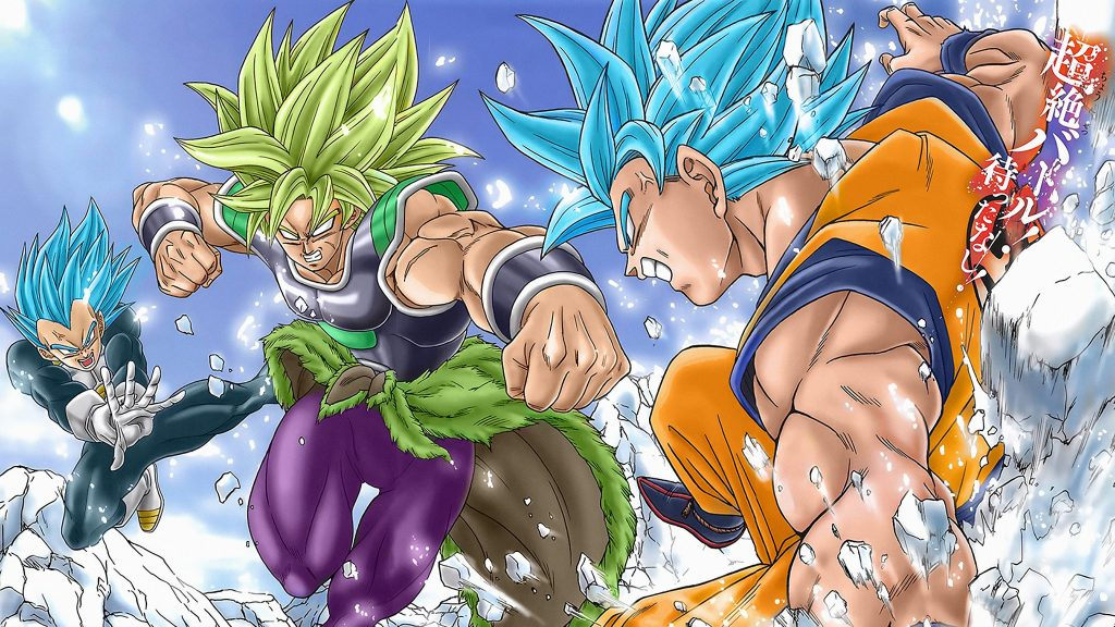 Dragon Ball Super: Broly HD Quad HD Background