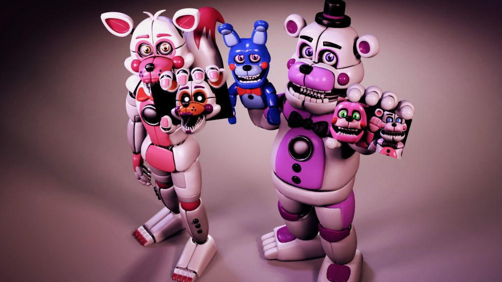 Five Nights at Freddy's: Sister Location Full HD Wallpaper