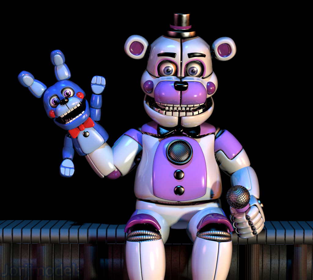Five Nights at Freddy's: Sister Location Wallpaper