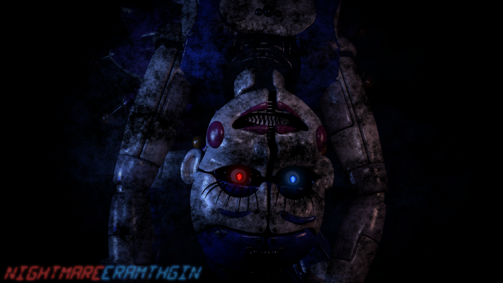 Five Nights at Freddy's: Sister Location Quad HD Wallpaper