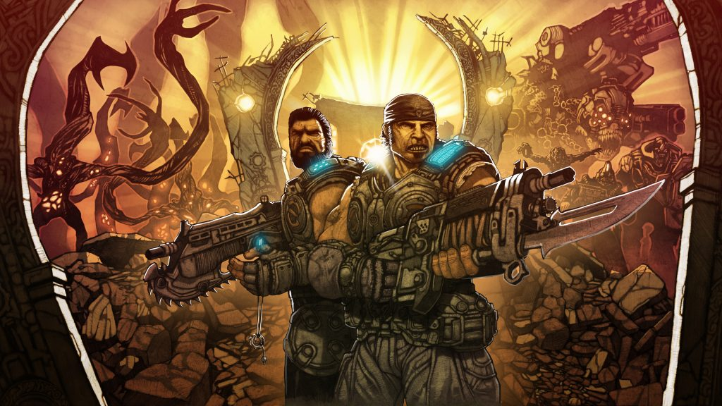 Gears Of War Quad HD Wallpaper