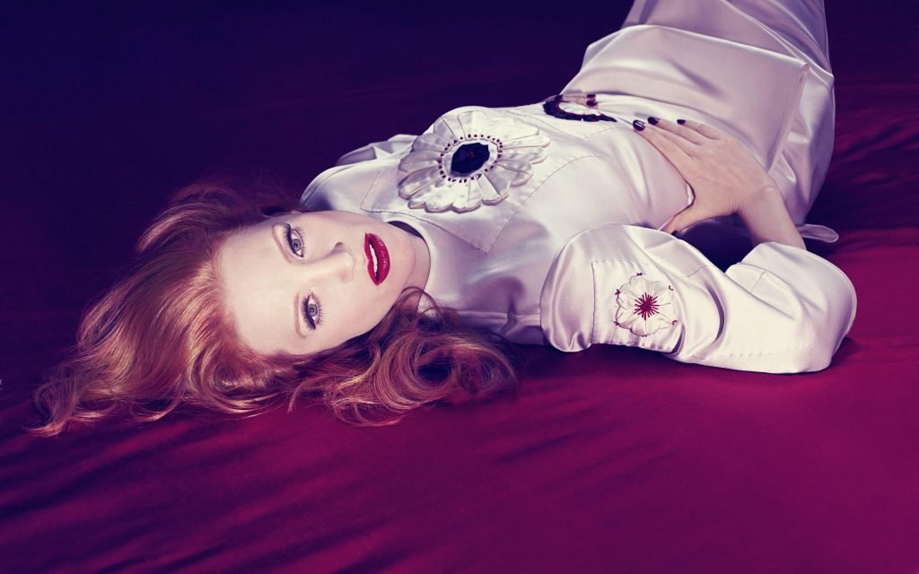 Jessica Chastain HD Widescreen Background