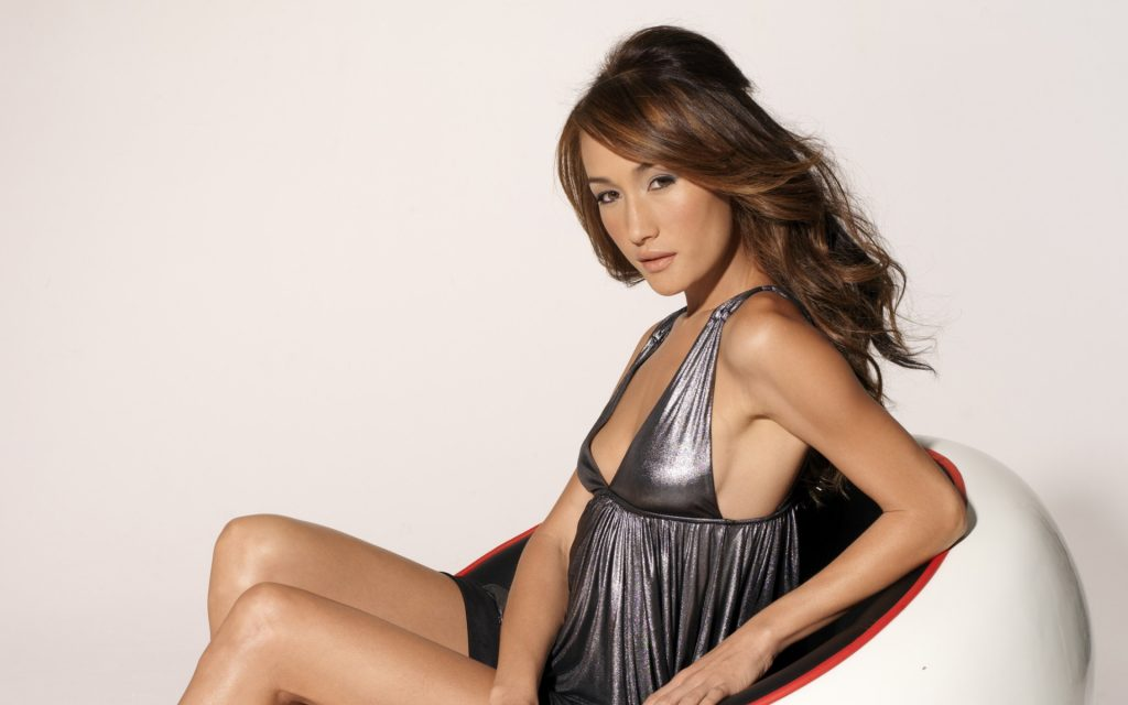 Maggie Q Widescreen Wallpaper