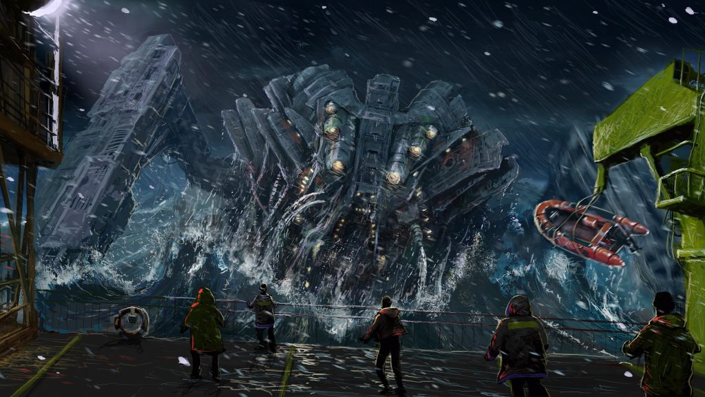 Pacific Rim Quad HD Background