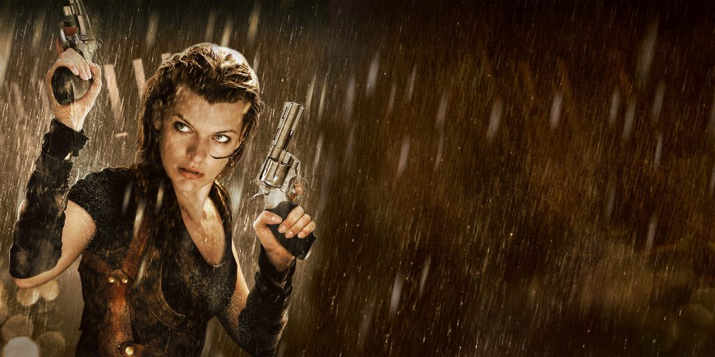 Resident Evil: Afterlife Background