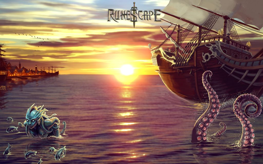 Runescape Widescreen Background
