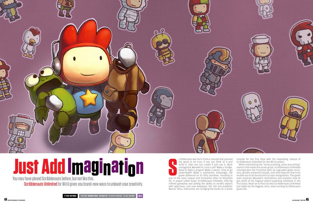 Scribblenauts Unlimited Wallpaper