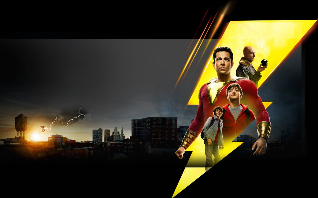 Shazam! Widescreen Wallpaper