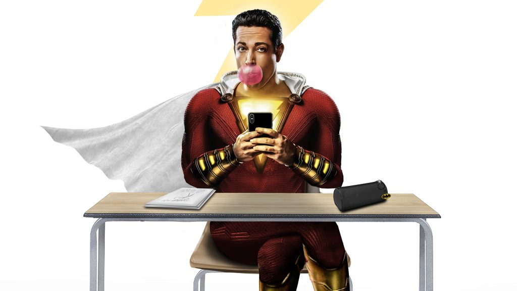 Shazam! Quad HD Wallpaper