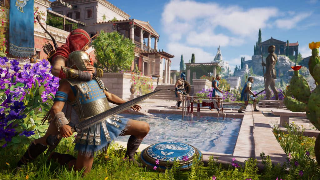 Assassin's Creed Odyssey Quad HD Wallpaper
