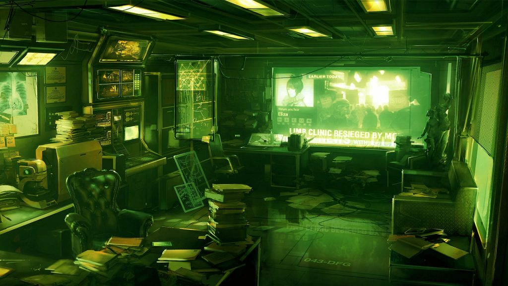 Deus Ex: Human Revolution Full HD Wallpaper