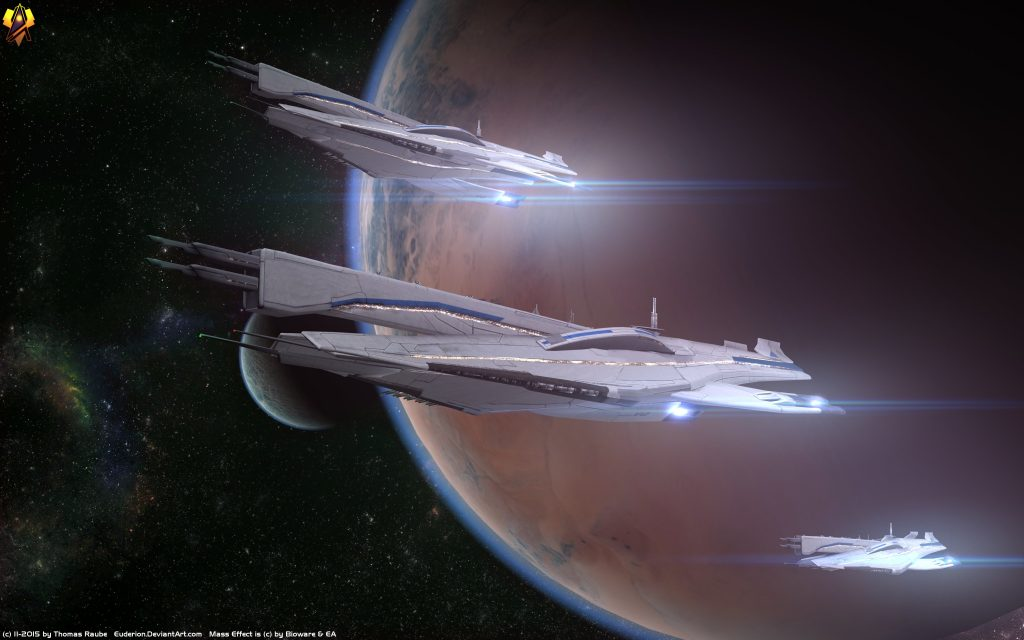 Mass Effect Widescreen Background