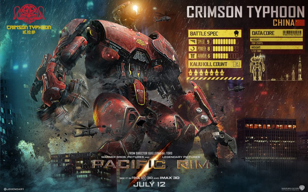 Pacific Rim HD Widescreen Wallpaper