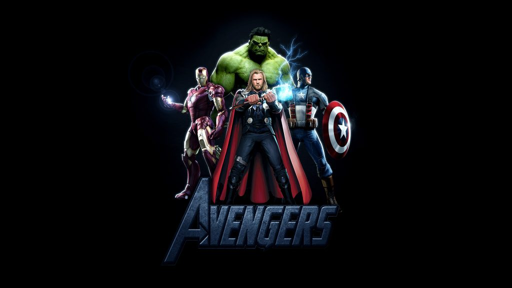 The Avengers HD Full HD Background