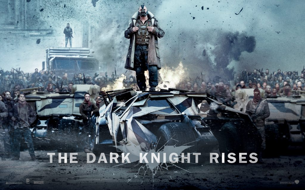 The Dark Knight Rises HD Widescreen Background