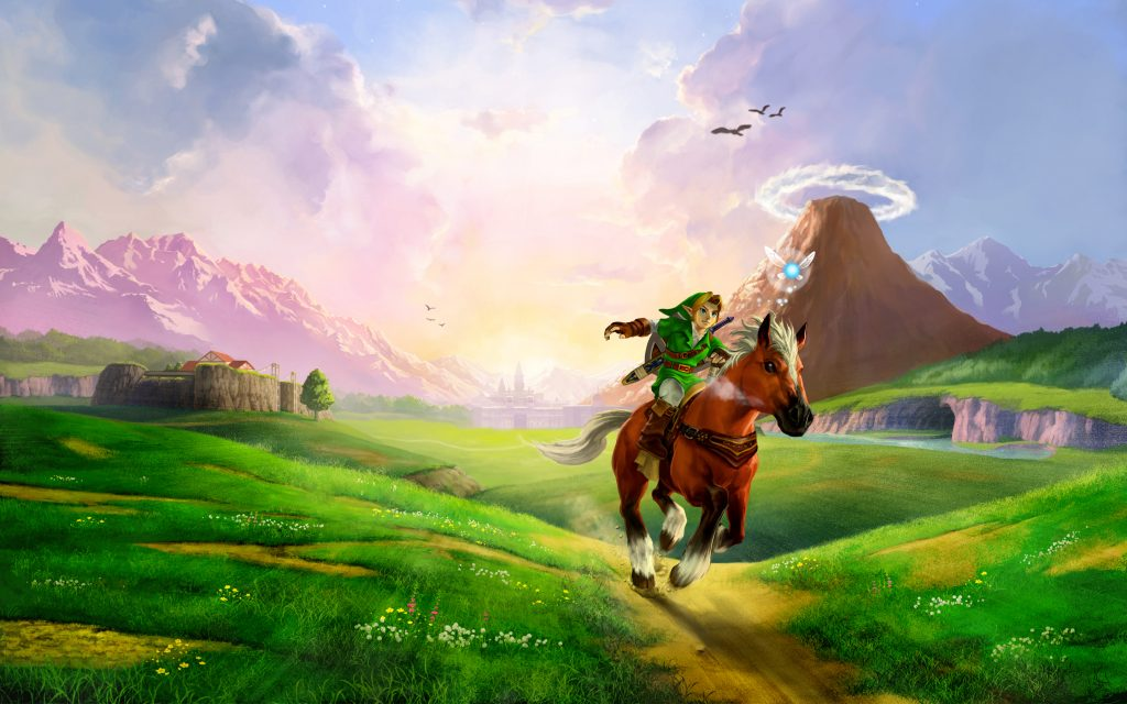 The Legend Of Zelda: Ocarina Of Time Widescreen Background