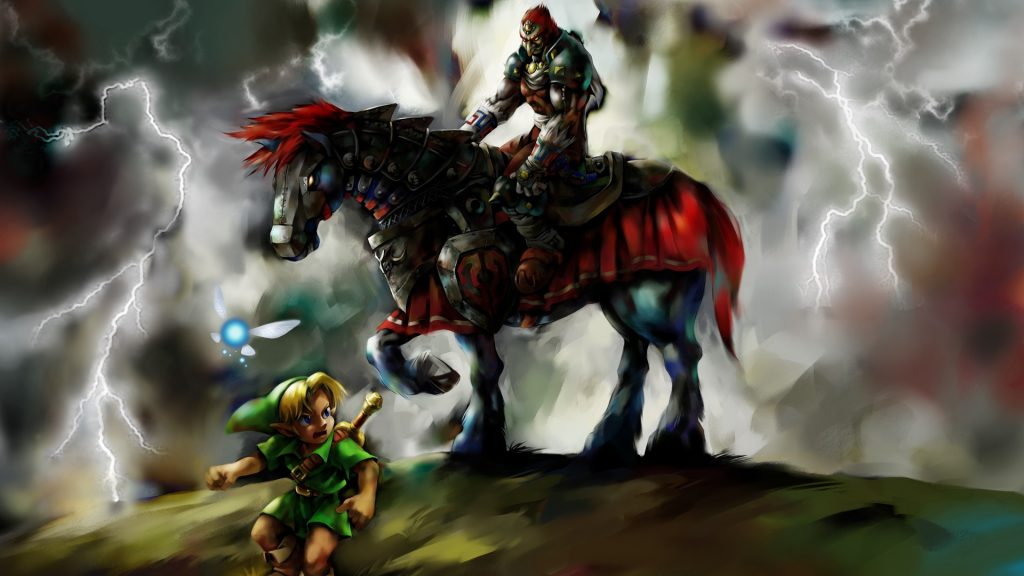 The Legend Of Zelda: Ocarina Of Time Full HD Background