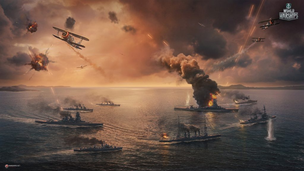 World Of Warships HD Full HD Wallpaper