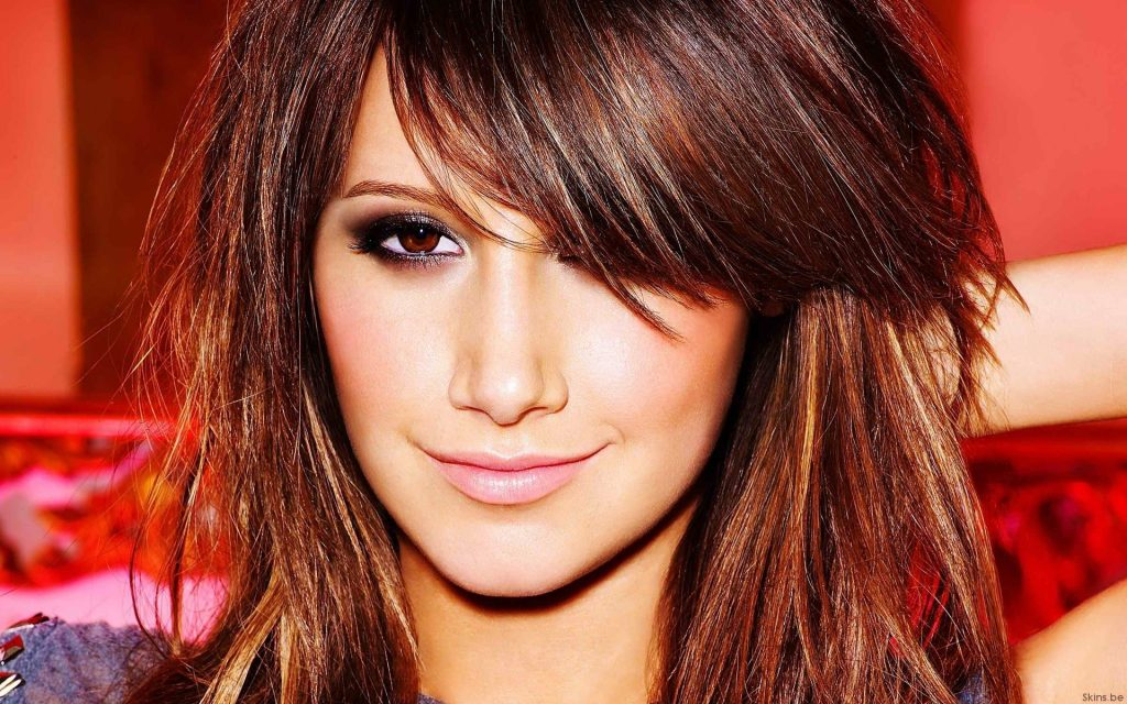 Ashley Tisdale HD Widescreen Background