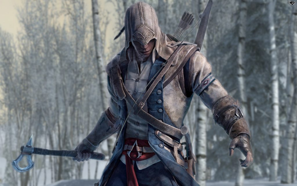Assassin's Creed III HD Widescreen Background