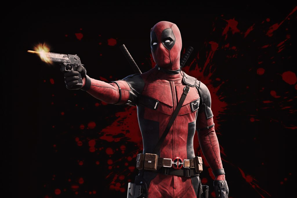 Deadpool 2 Background