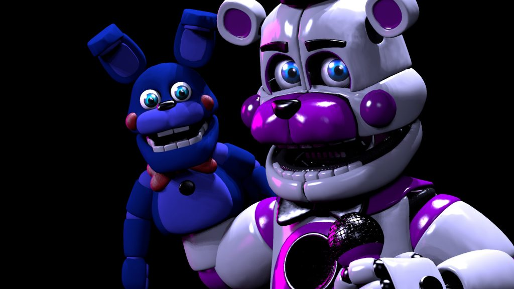 Five Nights at Freddy's: Sister Location Full HD Background