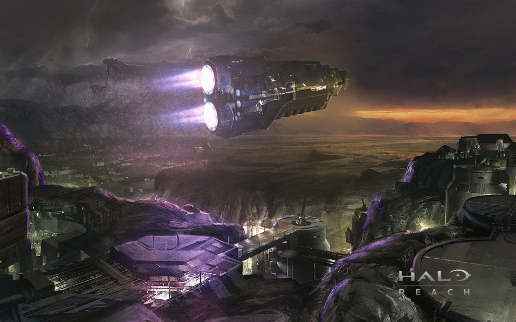 Halo: Reach Widescreen Background