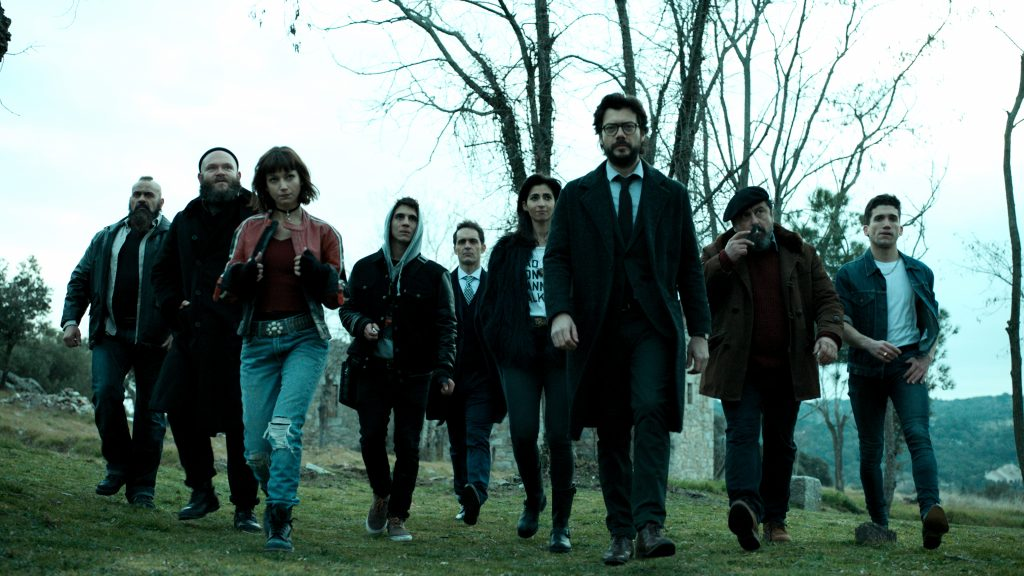 La casa de papel Quad HD Wallpaper