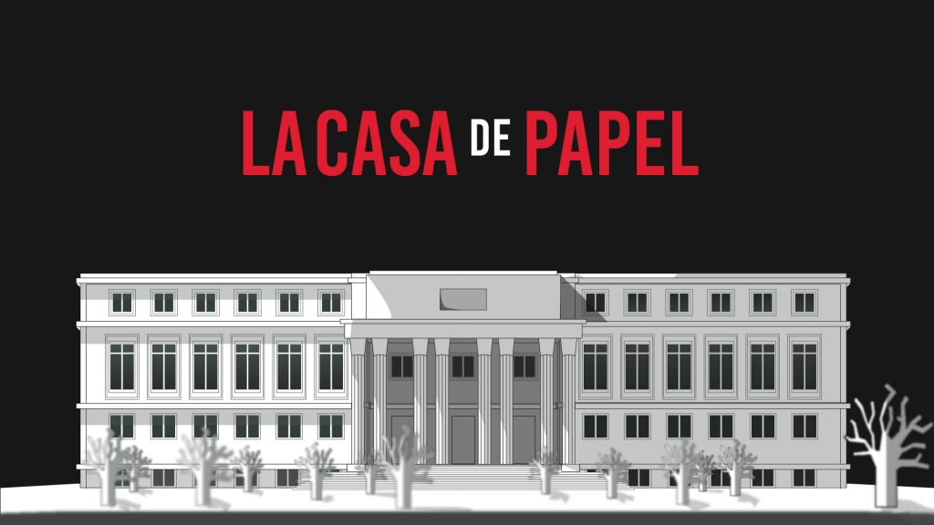 La casa de papel Full HD Wallpaper