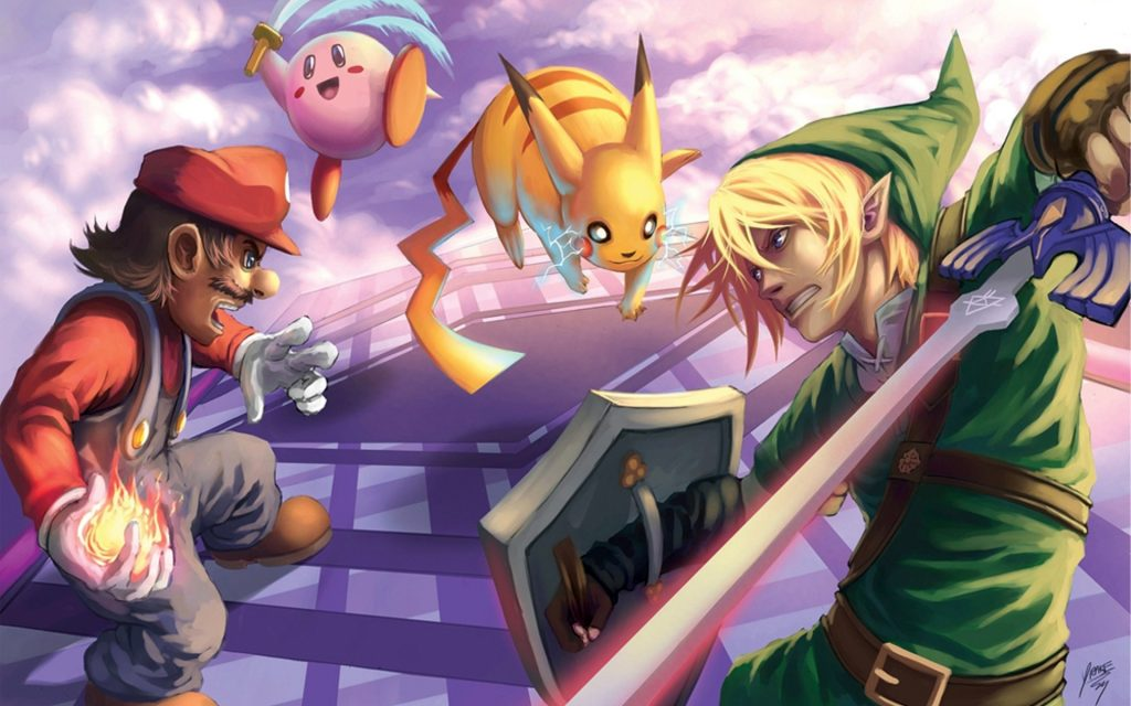 Super Smash Bros. HD Widescreen Wallpaper