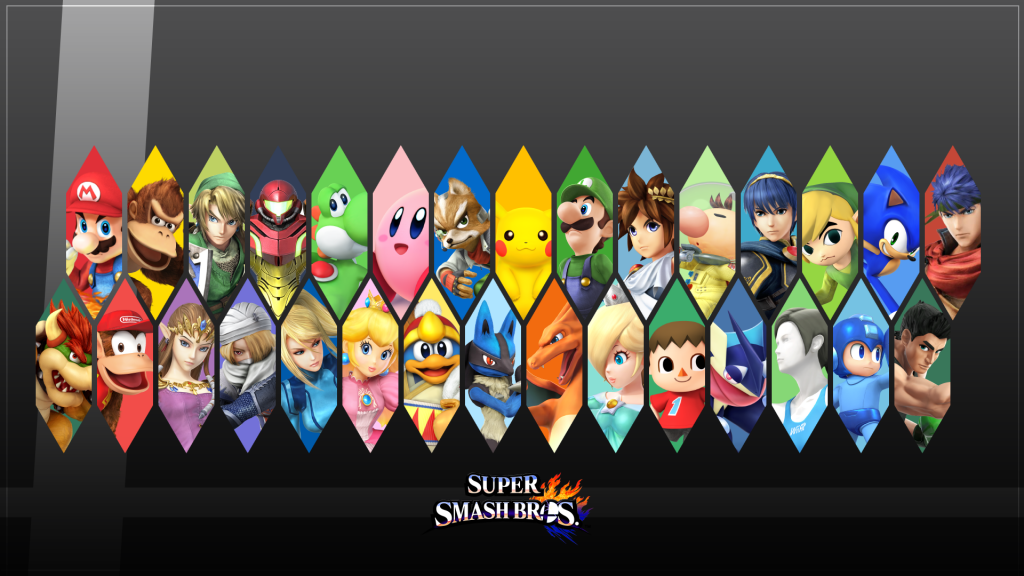 Super Smash Bros. HD Full HD Wallpaper