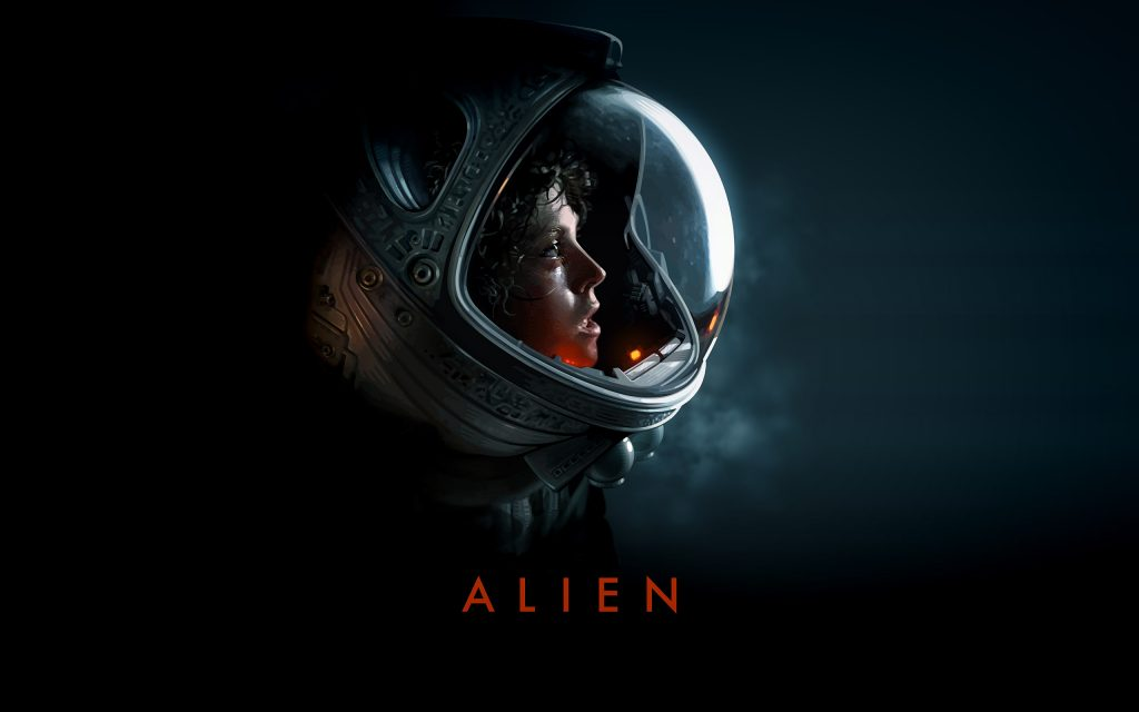 Alien Widescreen Background