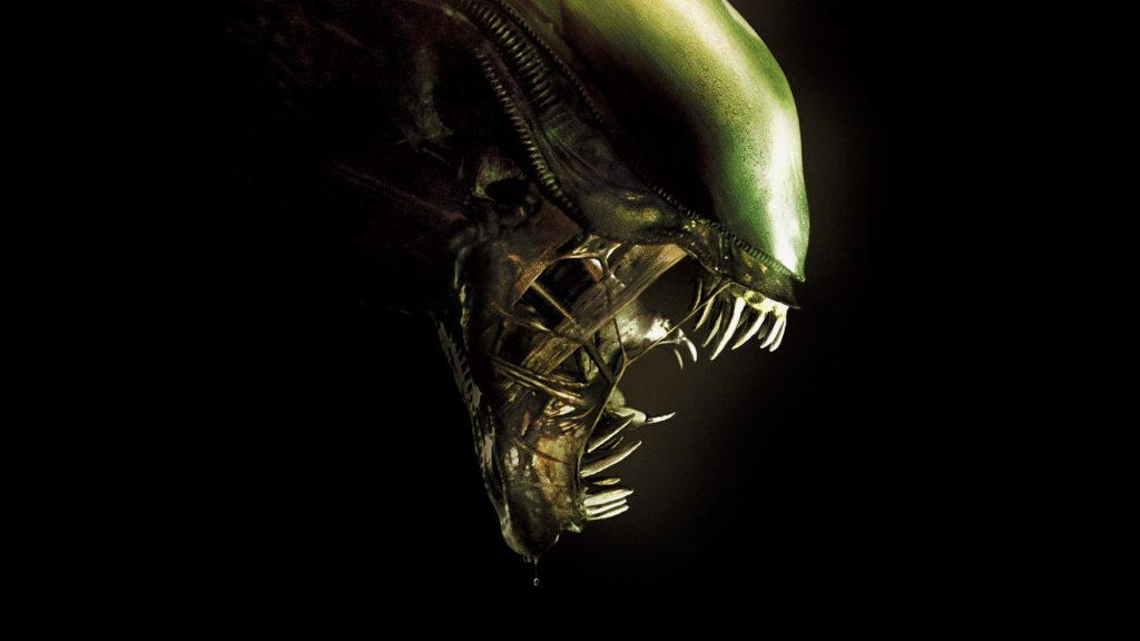 Alien Full HD Background