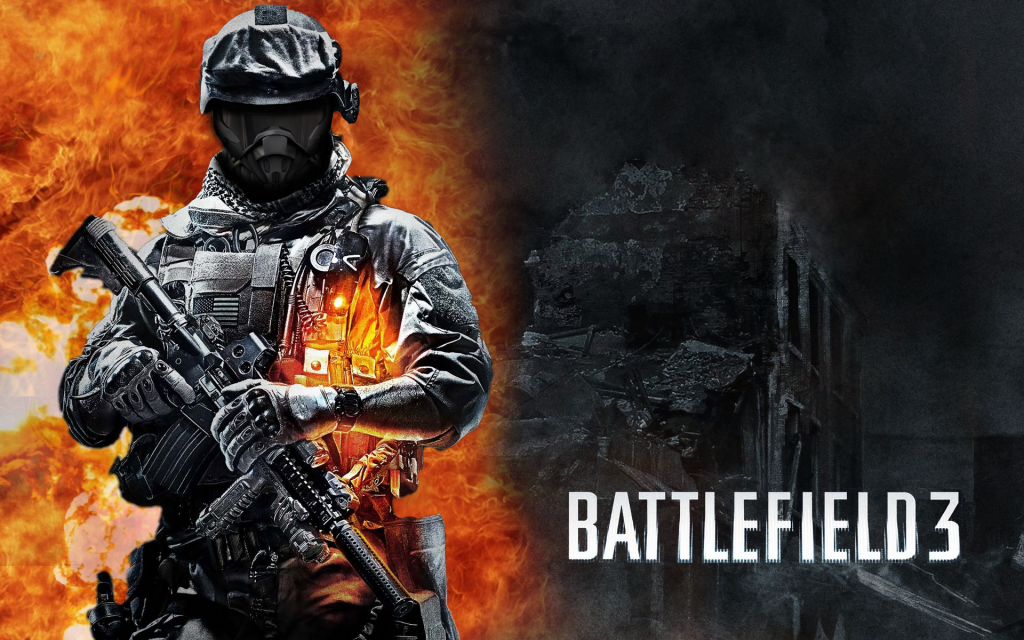 Battlefield 3 HD Widescreen Wallpaper