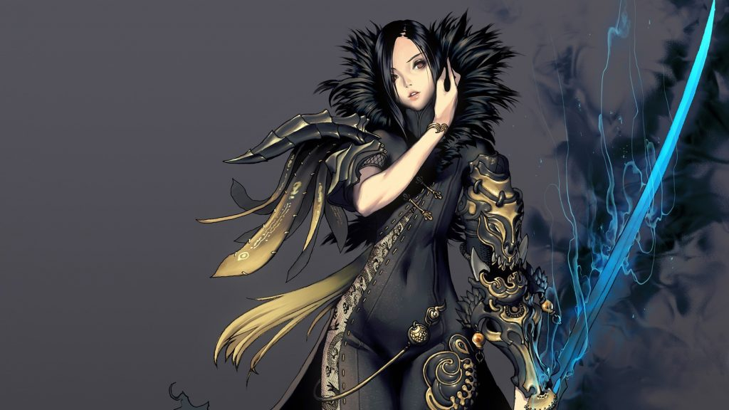 Blade & Soul Quad HD Wallpaper