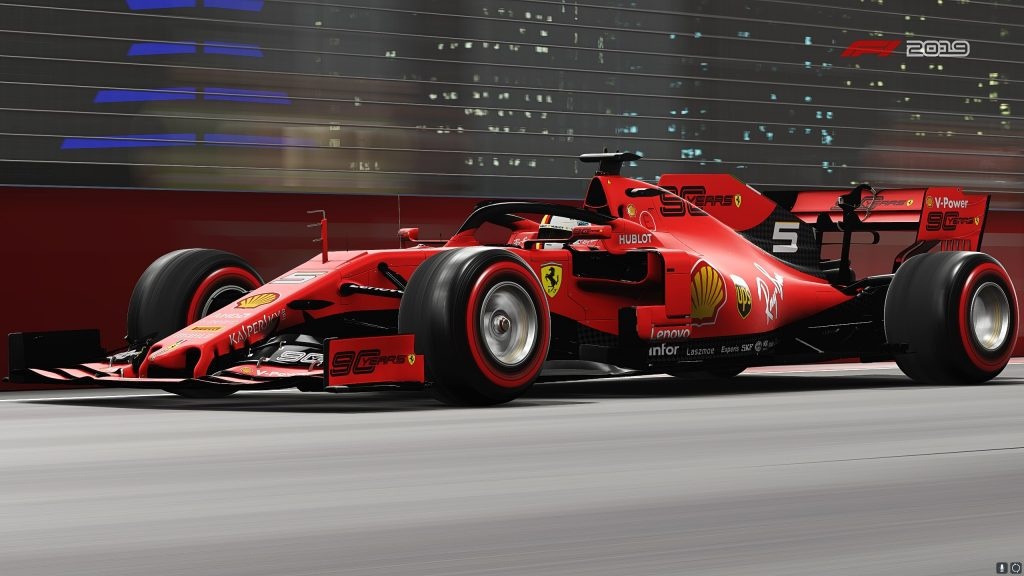 F1 2019 Quad HD Wallpaper