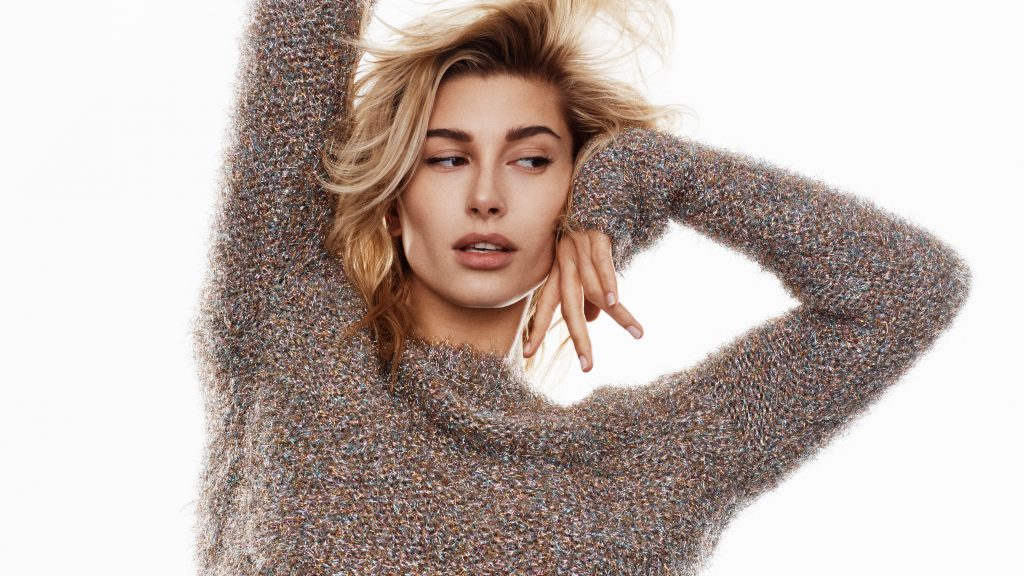 Hailey Baldwin Quad HD Wallpaper