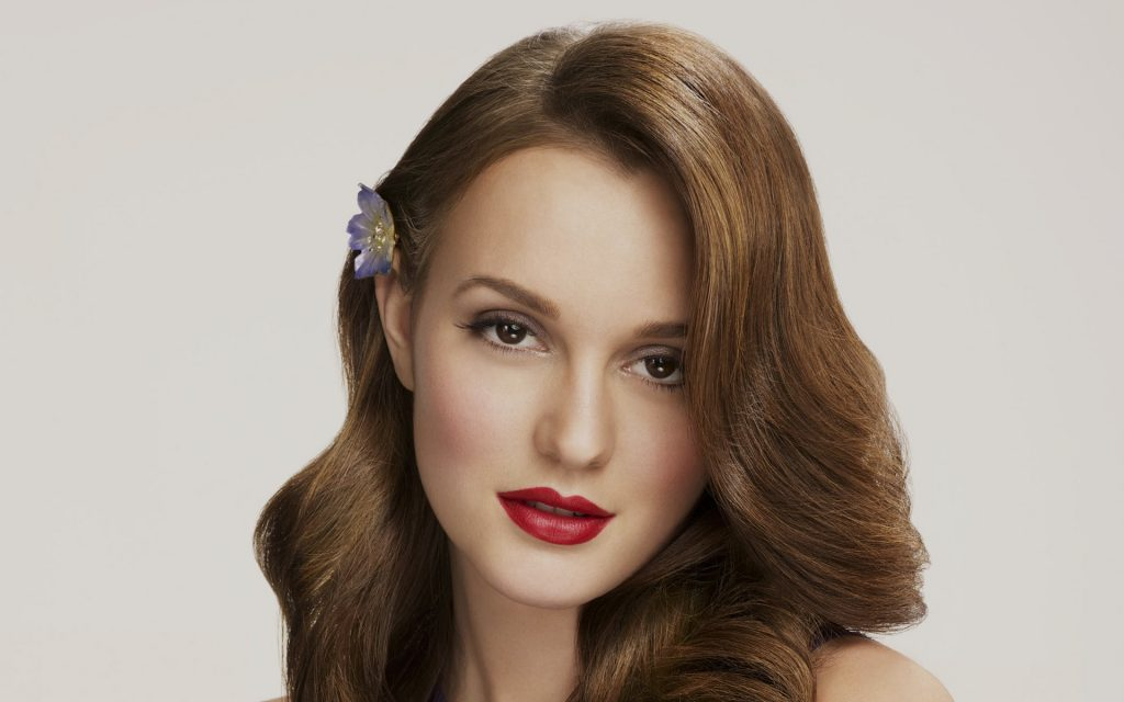 Leighton Meester Widescreen Wallpaper