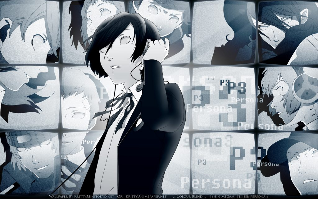 Persona 3 Widescreen Wallpaper