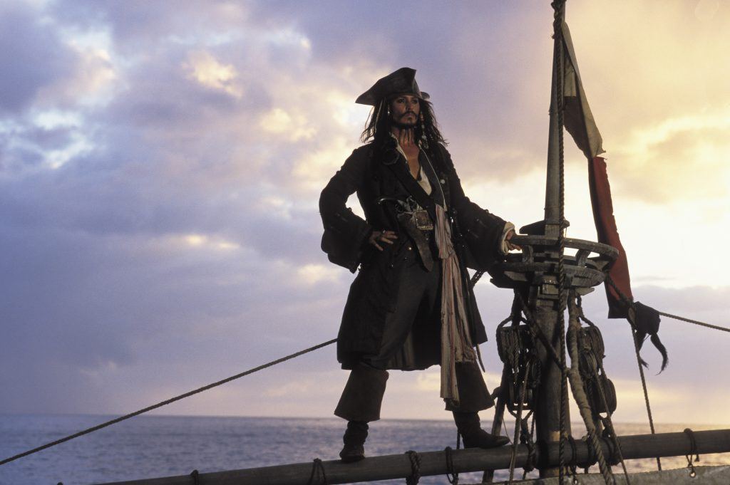 Pirates Of The Caribbean: The Curse Of The Black Pearl HD Wallpaper