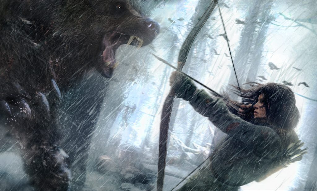 Rise Of The Tomb Raider HD Background